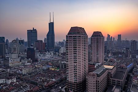上海楼群图片