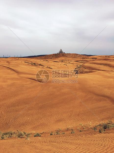 库布齐沙漠图片