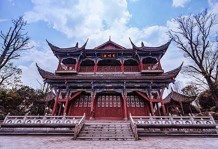 重庆璧山秀湖公园古建筑图片
