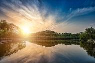 重庆秀湖公园风景图片