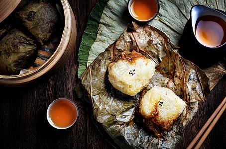 荷叶糯米鸡图片