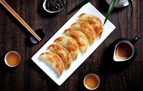 传统年味煎饺图片