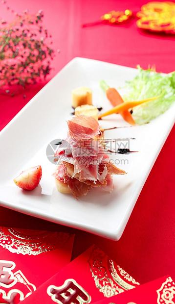 新年春节高级火腿图片