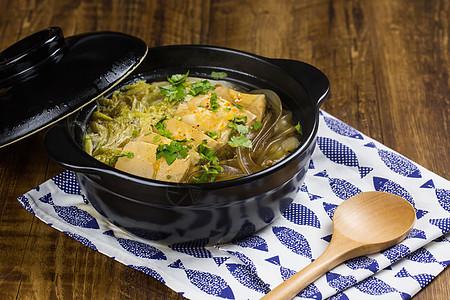 白菜炖豆腐图片