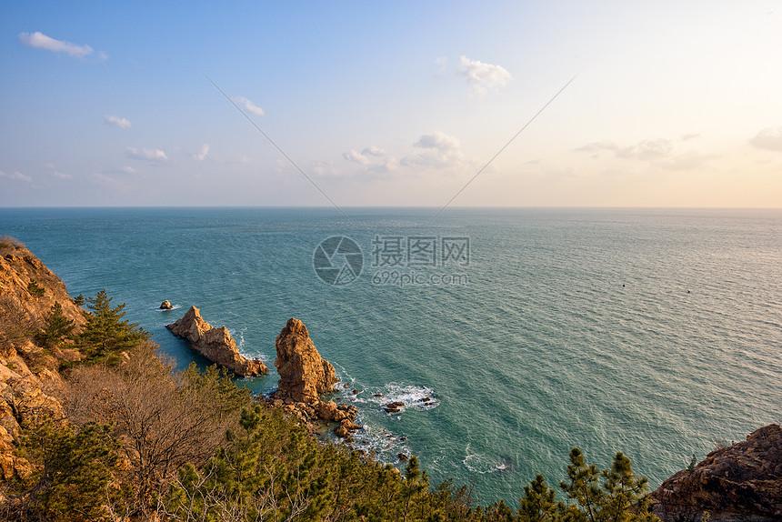鸟瞰黄金海岸图片