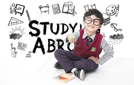 儿童留学教育图片