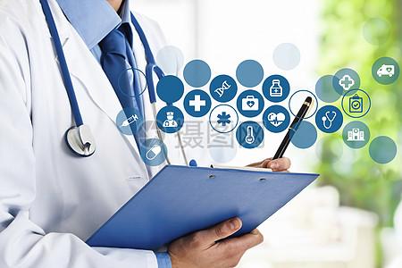 医疗技术背景图片
