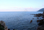 晴空万里大海无边图片