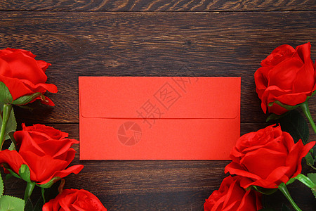 浪漫红玫瑰静物图图片