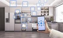 智能家居厨房图片