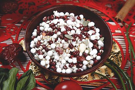 红豆薏米 大暑图片