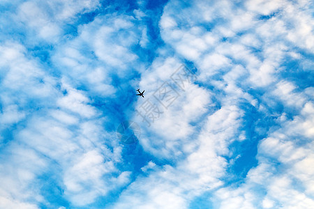 天空和飞机的素材图片图片