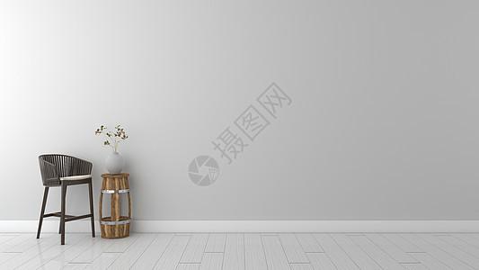 简约灰色系室内装饰家居背景图片