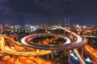 南浦大桥之夜图片