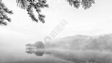 庐山冰雪摄影图片图片