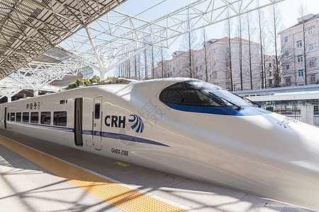 CRH动车组列车图片