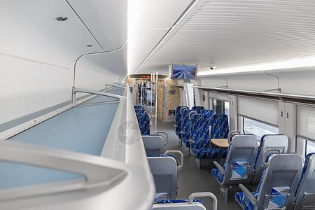 列车上的行李架图片