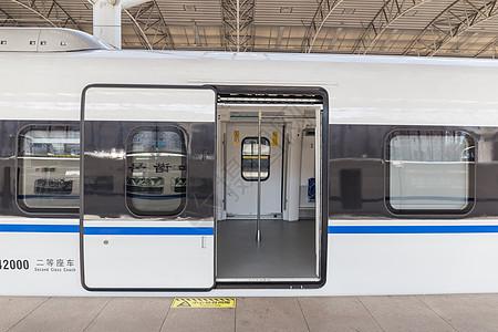 CRH动车组列车车门图片
