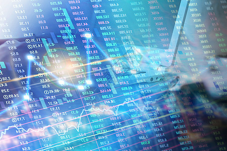 股市经济数据分析图片