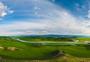 巴音布鲁克草原全景长图图片