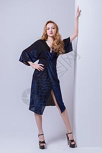 大气时尚美女模特图片