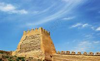 嘉峪关的长城烽火台图片