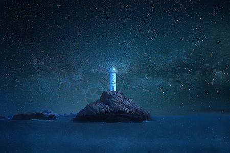 舟山海岛灯塔图片