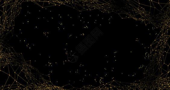 金色科技地图背景图片