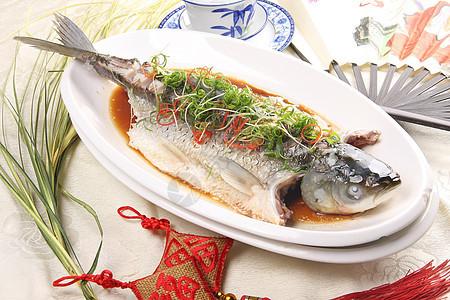 清蒸鲩鱼 图片