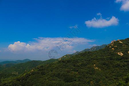 蔚蓝山脉图片