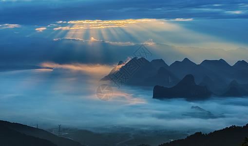 桂林尧山风光图片