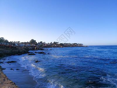 海边的小镇图片