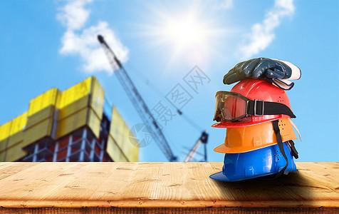 工地建设安全防护图片