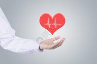心脏/持有医学概念图片