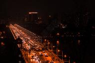 武汉长江大桥车流图片