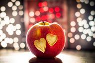 创意心形苹果图片