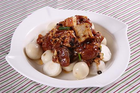 豉汁排骨蒸芋艿 图片