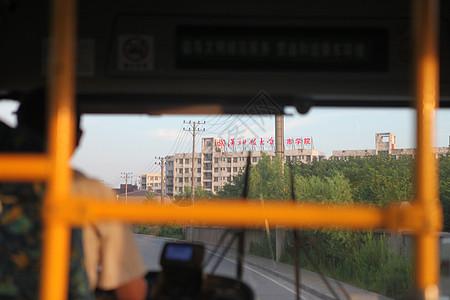 公交车上图片
