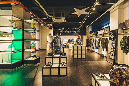 服装商店环境图片