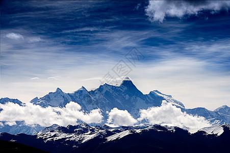 西藏南迦巴瓦峰图片