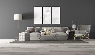 后现代风格室内家居图片