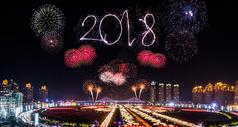 2018新年烟花图片