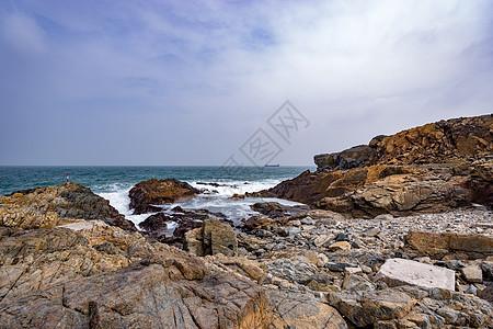 香港岩石海岸线图片