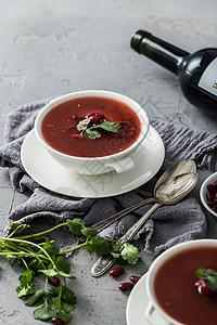 红豆浓汤图片