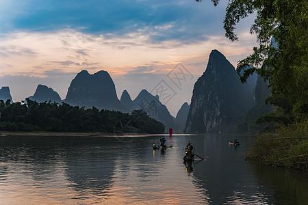 漓江黄布滩图片