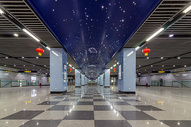 地铁站图片
