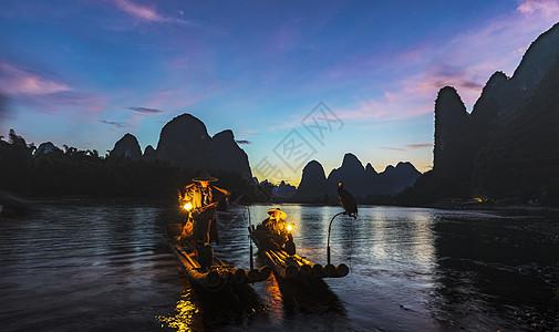 漓江渔歌图片