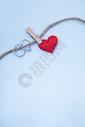 戒指与爱心图片