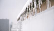 冬天冰锥图片