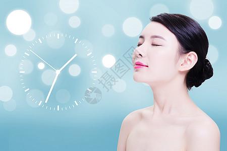 美容海报背景图片